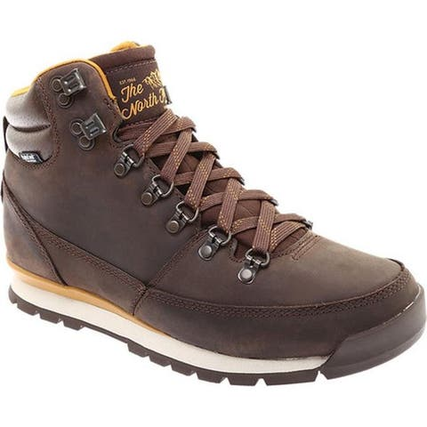 The North Face Men's Back-To-Berkeley Redux Leather Boot Chocolate Brown/Golden Brown
