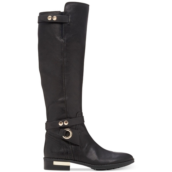 Vince Camuto Womens Prini WC Leather Closed Toe Knee High Fashion Boots