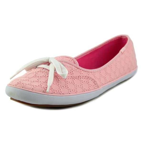Keds Teacup Eyelet   Round Toe Canvas  Sneakers