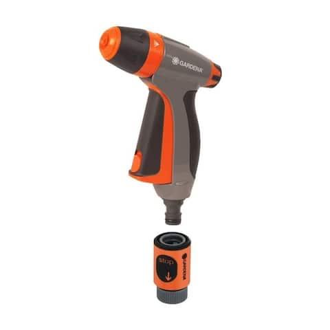 Gardena 32117 Adjustable Spray Pistol Nozzle, ABS Plastic - 7 x 3 x 9 inches