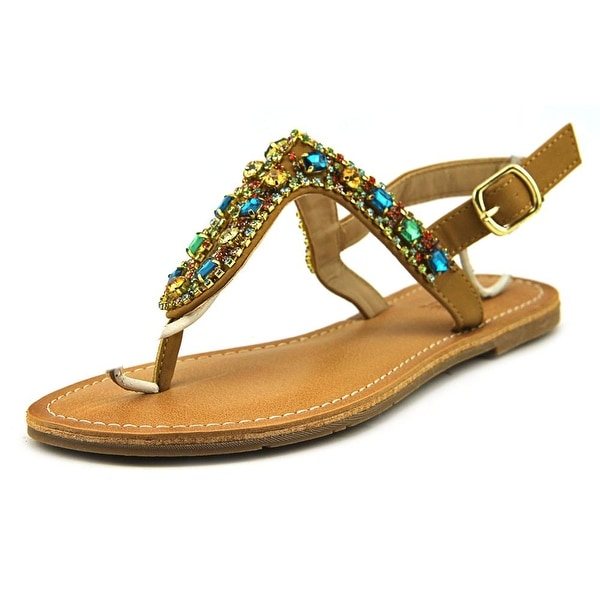 Dolce by Mojo Moxy Rosary Women Open Toe Synthetic Multi Color Thong Sandal