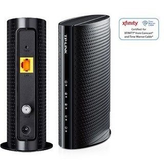 Tp-Link Docsis 3.0 343Mbps High Speed Cable Modem, 8X4, Certified For Comcast/Xfinity, Spectrum, Time Warner Cable, Char