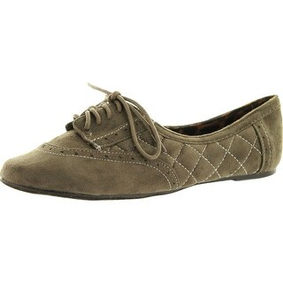 Not Rated Womens Stellar Style Oxford Flats Shoes