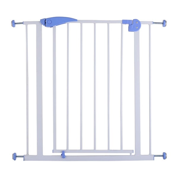 Costway Baby Safety Gate Door Walk Through Child Toddler Pet Metal Easy Locking System