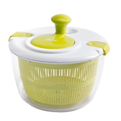 Oster Kitchen Artistry Salad Spinner, Lime Green