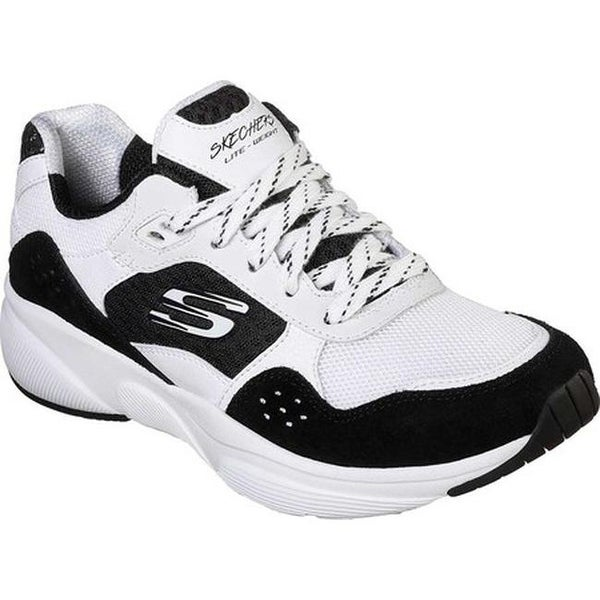 Shop Skechers Women's Meridian Charted Sneaker WhiteBlack