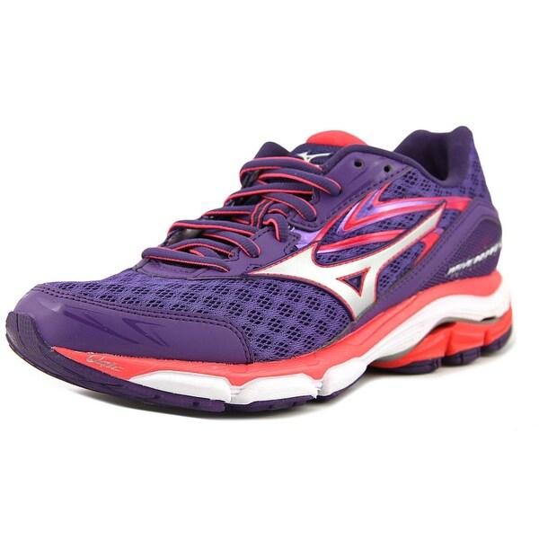 Mizuno Wave Inspire 12 Women D Round Toe Synthetic Purple Running Shoe