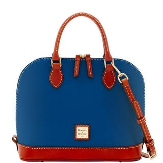Dooney & Bourke Pebble Grain Zip Zip Satchel (Introduced by Dooney & Bourke at $198 in Jun 2017)