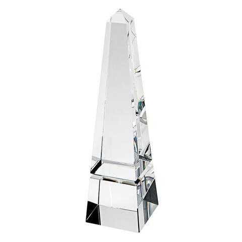 """12"""" Hand Crafted Crystal Obelisk"""