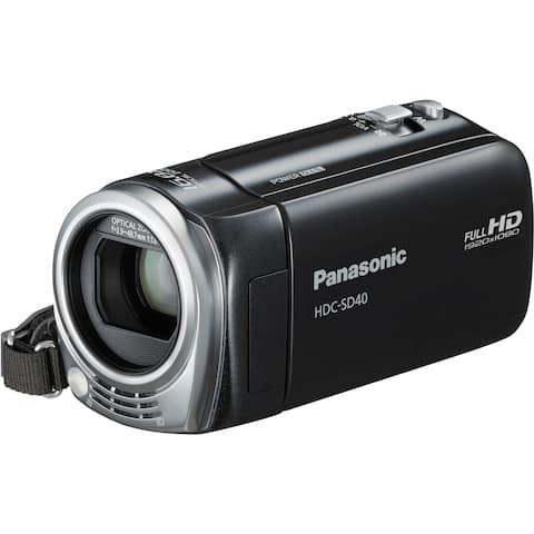 Panasonic HDC-SD40 High Definition Camcorder (Black)