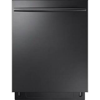 Samsung DW80K7050U 24 Inch Wide 15 Place Setting Energy Star Rated Built-In Dishwasher with Curved Handle and StormWash?