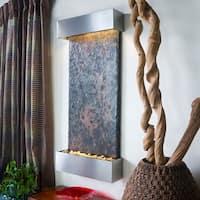 Nojoqui Falls Lightweight Large Fountain Shroud Finish: Brushed Stainless Steel