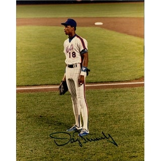 Signed Strawberry Darryl New York Mets 8x10 Photo autographed