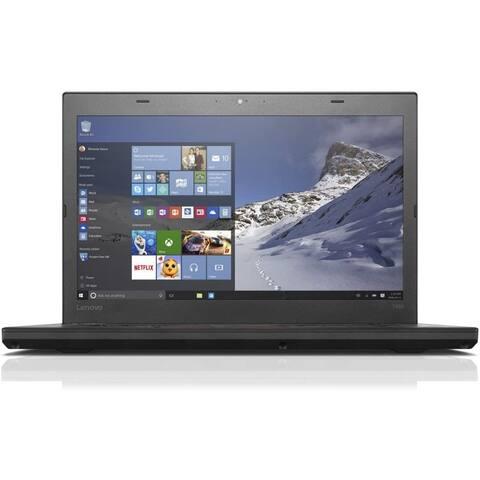 Lenovo ThinkPad T460 14.0-in Refurb Laptop - Intel Core i5 6300U 6th Gen 2.40 GHz 8GB 256GB SSD Windows 10 Home - Webcam