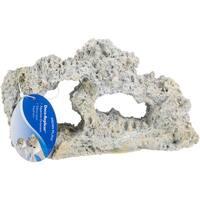 Penn-Plax Tufa Stone Aquarium Ornament-Medium