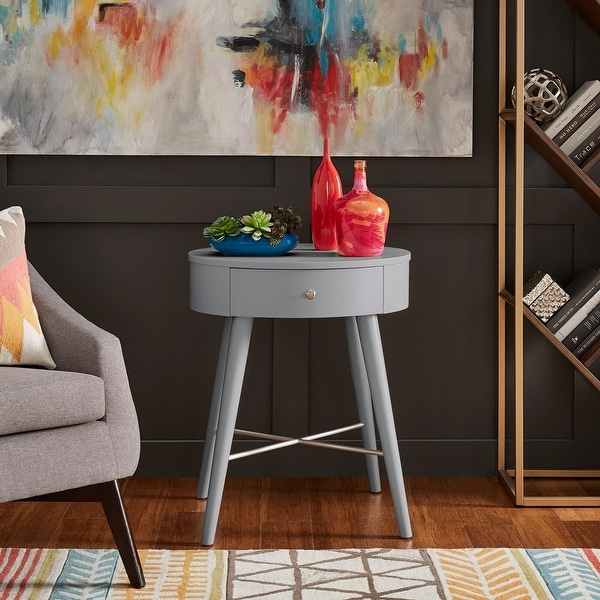 Carson Carrington Tiarp Oval Accent Table