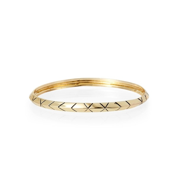 House Of Harlow 1960 Womens Bangle Bracelet Aztec Engraved