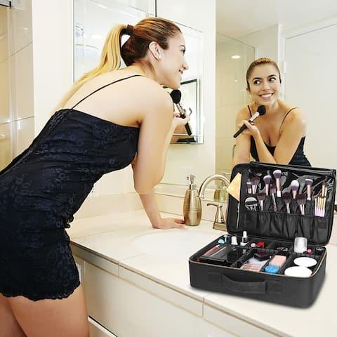 Professional Cosmetic Makeup Bag Organizer Makeup Boxes Sorage Cabinet