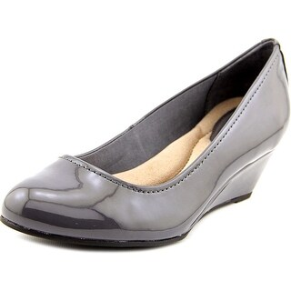 Giani Bernini Jileen Open Toe Synthetic Wedge Heel