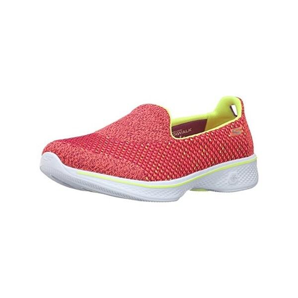 Skechers Womens Go Walk 4 Walking Shoes Slip On Colorblock