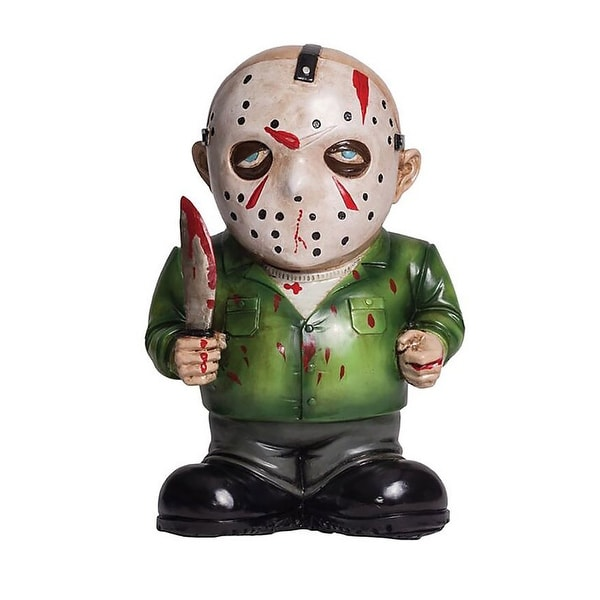 Friday The 13th Jason Voorhees Lawn Gnome Halloween Decoration