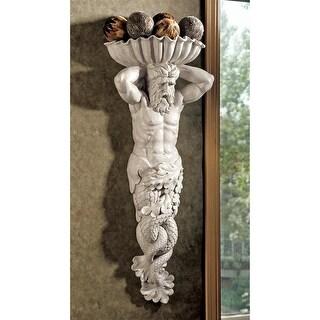Design Toscano Atlantes, God of the Sea Wall Sculpture