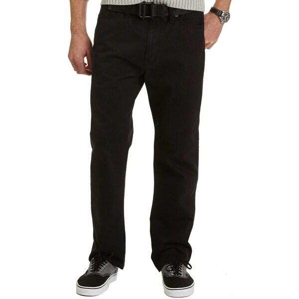 Nautica Mens Pants Cotton Solid