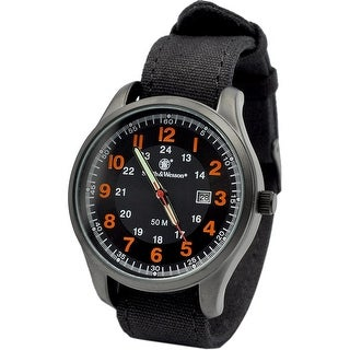 Smith & Wesson Cadet Watch Orange 51mm 5ATM - Black