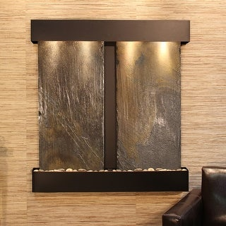 Aspen Falls Fountain - Blackened Copper - Square Edges - Choose Options