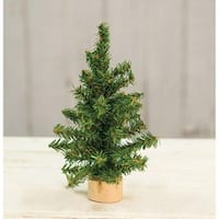 """Mini Tree Wood Base 8"""""""