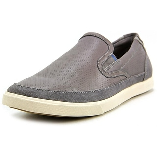 Cole Haan Owen sport Men Round Toe Leather Gray Loafer