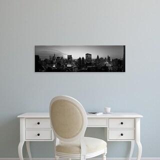 Easy Art Prints Panoramic Images's 'Chicago, Illinois, USA' Premium Canvas Art