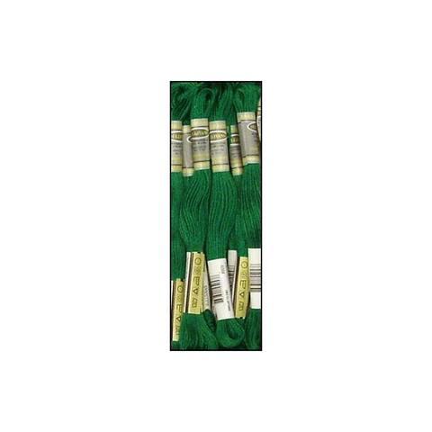 45257 sullivans emb floss 8 7yd vd emerald green
