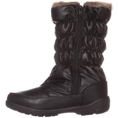 Sporto Womens Makela Closed Toe Mid-Calf Cold Weather Boots