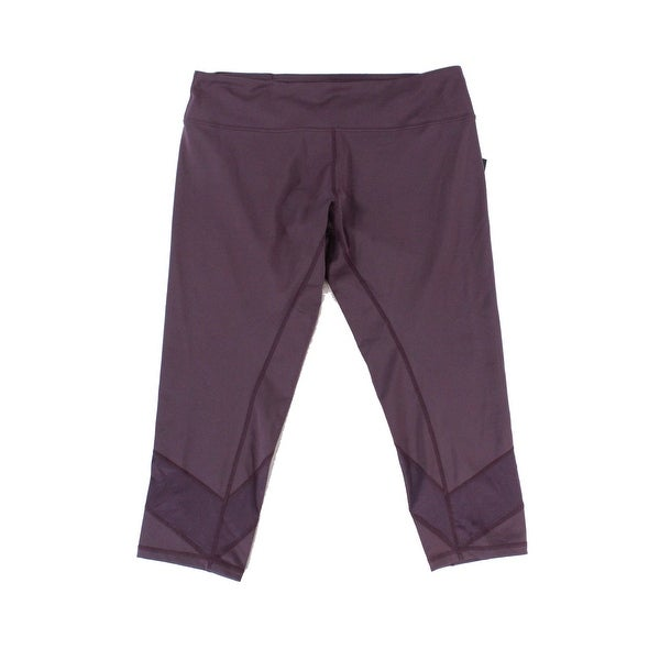d98e8d6fe40d Shop Asics Purple Women s Size XL Performance Capris Leggings Pants - Free  Shipping On Orders Over  45 - Overstock.com - 21724023