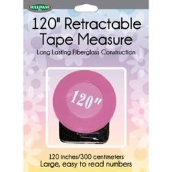 """Pink - Retractable Tape Measure 120"""""""