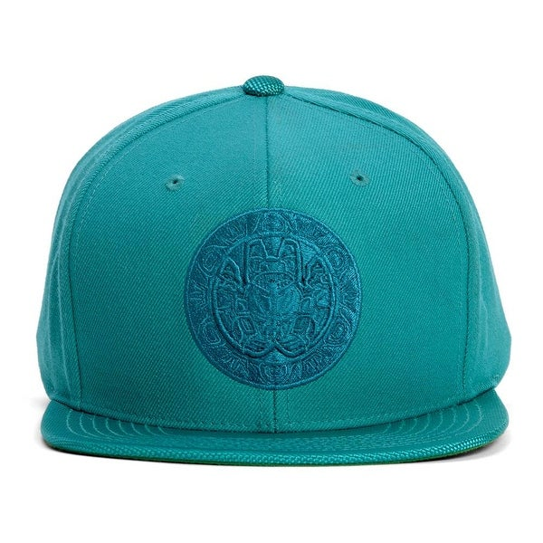 finest selection ba347 904e6 Mitchell  amp  Ness Vancouver Grizzlies Teal Ballistic Snapback