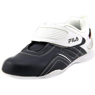Fila Firestone Racer Round Toe Leather Sneakers