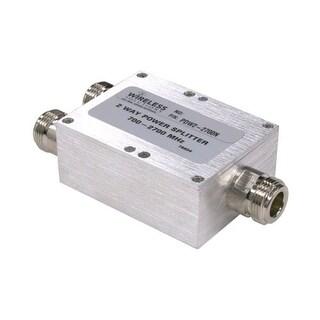 Wireless Solutions - 698-2700 MHz 2-Way Splitter w/ N Females