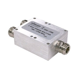 Wireless Solutions - 698-2700 MHz 2-Way Splitter w/ N Females