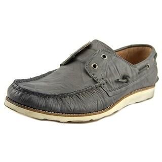 John Varvatos Lugger Moc Toe Synthetic Boat Shoe