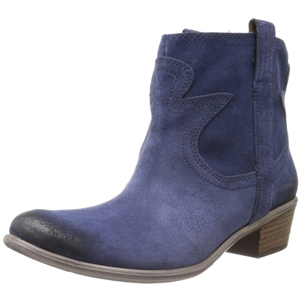 Lucky Brand Womens Terra Suede Almond Toe Ankle Fashion Boots