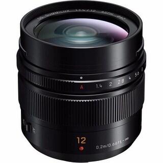 Panasonic Leica DG Summilux 12mm f/1.4 ASPH. Lens - black