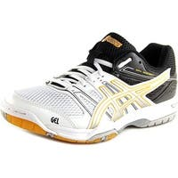 Asics Gel-Rocket 7 Men  Round Toe Synthetic White Tennis Shoe