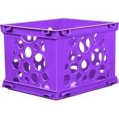 "Violet - Mini Crate 9""X7.75""X6"""