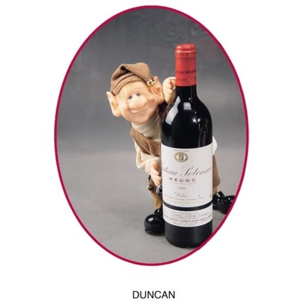 """11"""" Zims The Elves Themselves Duncan Collectible Christmas Cellar Elf Figure"""