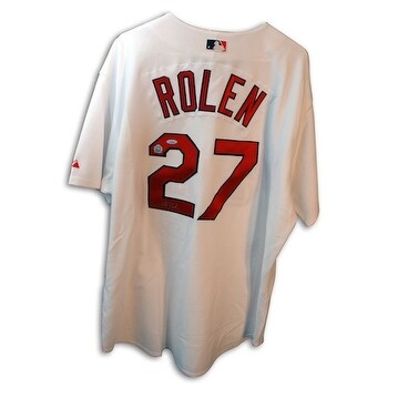 c5d1bf71ef9 Shop Autographed Scott Rolen White Cardinals Jersey - Free Shipping Today -  Overstock - 12655383