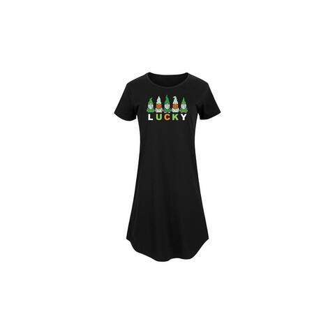 Instant Message - Lucky Gnomes - Ladies Any Way Dress