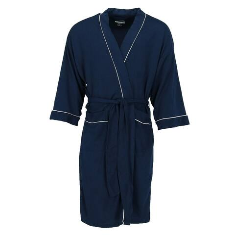 Fruit of the Loom Men's Big and Tall Waffle Knit Robe