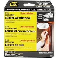 M-D Building Products Wht Epdm Pr Weatherstrip 02576 Unit: EACH
